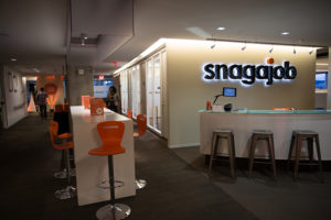 Snagajob offices in Rosslyn (photo courtesy of Snagajob)