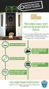 ACPD package theft infographic