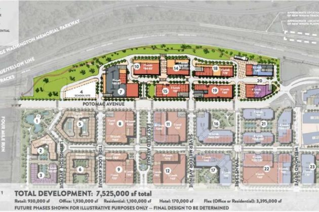 Full North Potomac Yard development plan