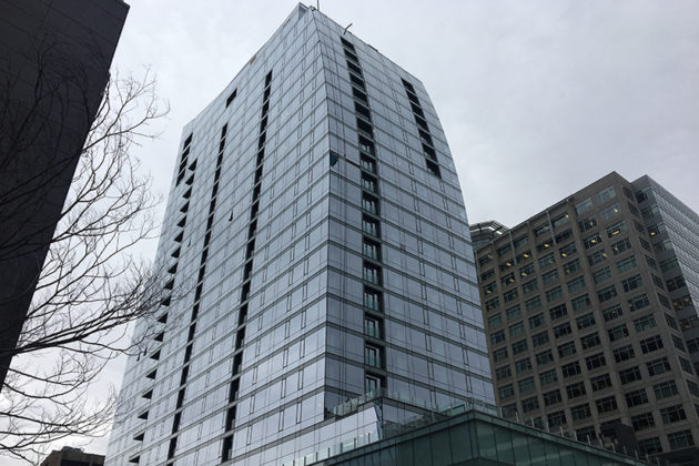Residential tower at Central Place in Rosslyn