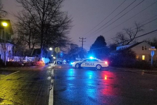 Douglas Park barricade situation (courtesy photo)