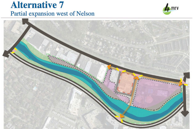 Potential land use overview from Four Mile Run Valley planning process