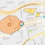 Rosslyn power outages Monday morning