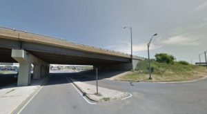I-395 overpass at S. Rotary Road (photo via Google Maps)