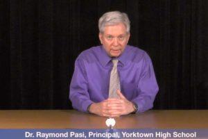 Screenshot via Yorktown HS video
