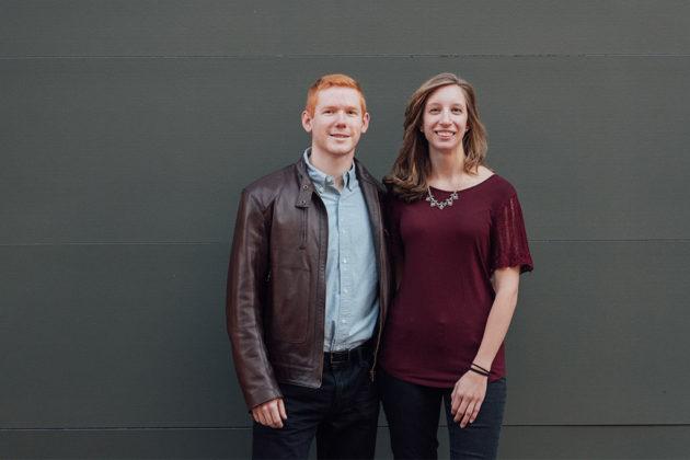 Blake Davenport and Leah Virbitsky of Discover Arlington (Photo courtesy Potok's World Photography)