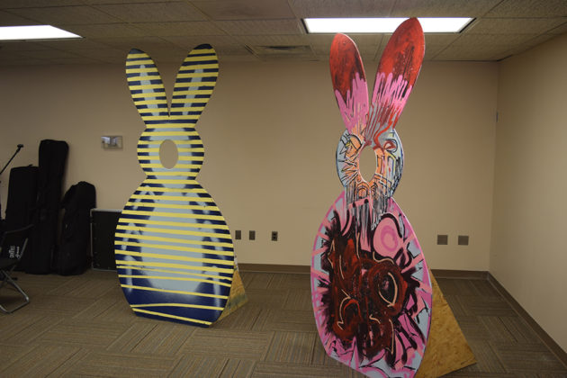 Kelly Snyder's giant rabbits