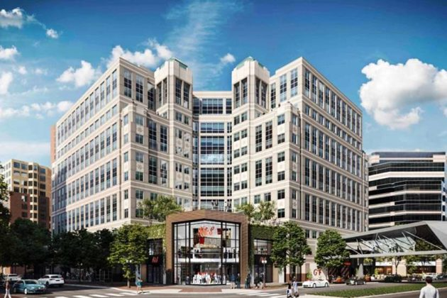 Jamestown LP will revamp Stafford Place when the NSF relocates (Courtesy Jamestown LP)