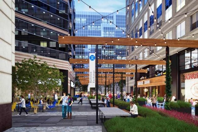 The Ballston Exchange will include ground-floor retail (Courtesy Jamestown LP)