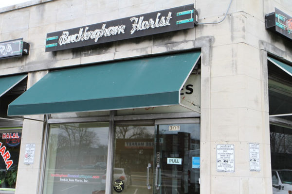 Buckingham Florist front storefront