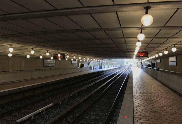 Arlington Cemetery Metro station