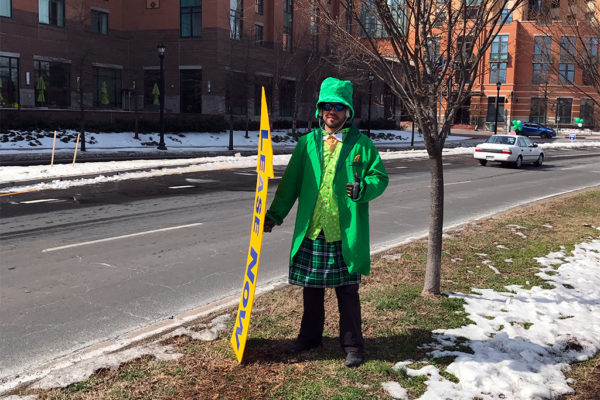 Shirlington leprechaun