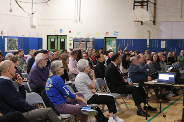 Last month's kick-off meeting for the new Lubber Run Community Center