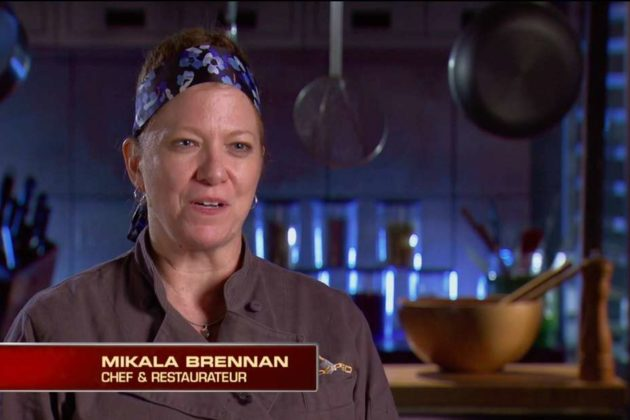 Mikala Brennan, owner of Hula Girl Bar and Grill (Courtesy Food Network)