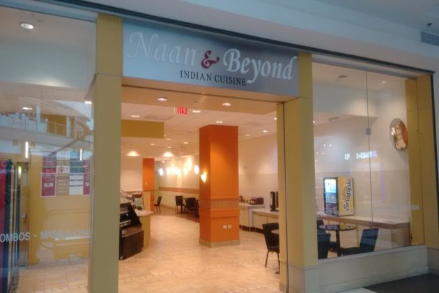 Indian fast casual eatery Naan & Beyond is open in the food court