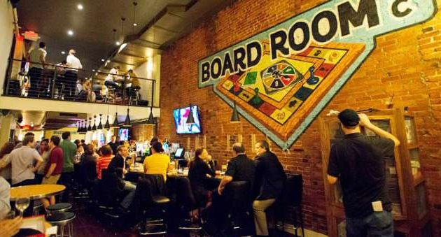 The Board Room D.C. (photo via boardroomdc.com)