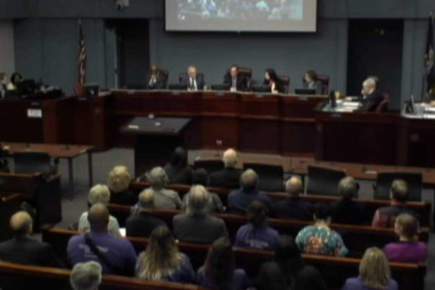 Around 60 people spoke Tuesday night on the proposed budget