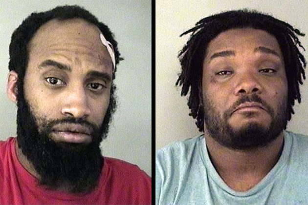 A-Town brawl suspects Marcus Reid (L) and Steven Goodwine (R) – photo via ACPD