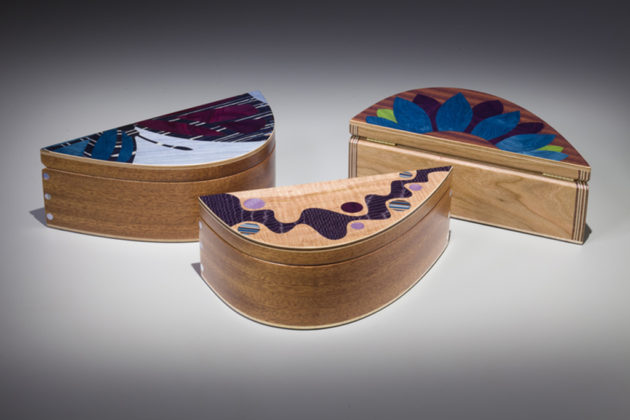 Wood art by Brian Bortz