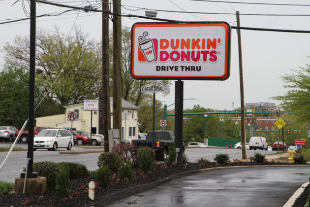 Dunkin' Donuts replaced KFC on N. Glebe Road