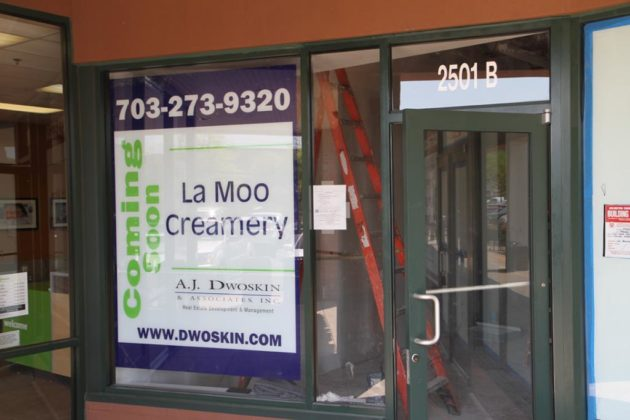 Ice cream store La Moo Creamery will join Kriser's at the shopping center