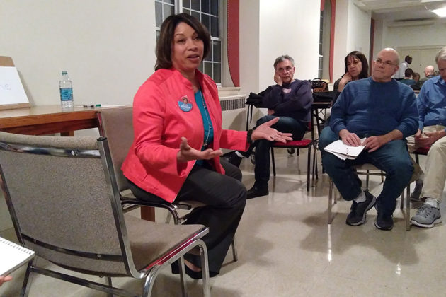 School Board candidate Monique O'Grady discusses the future Reed Elementary School