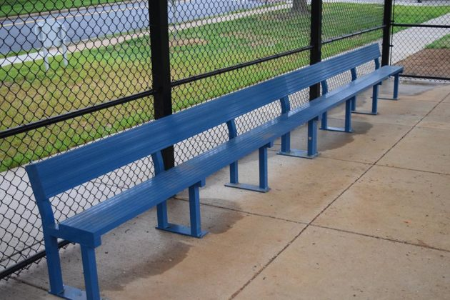 A revamped team bench