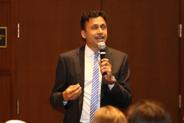 County Board candidate Vivek Patil