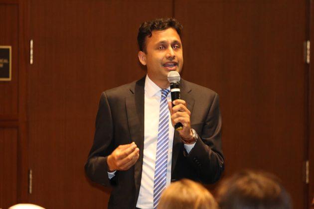 County Board candidate Vivek Patil