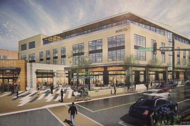 The building at 2801 Clarendon Blvd will receive a full makeover