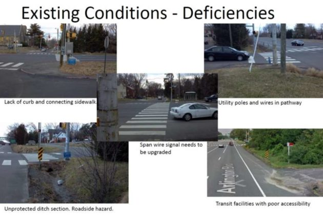 County staff listed several problems at the intersection