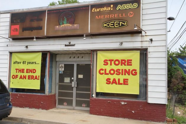Owner Eric Stern said the store will close when all merchandise is gone