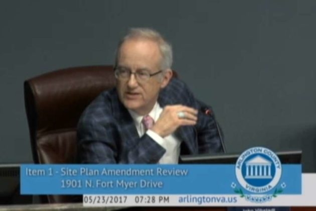 County Board member John Vihstadt