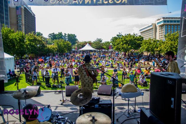 A performance at the Rosslyn Jazz Fest via Rosslyn BID