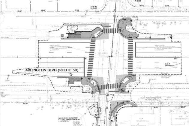 Improvements planned for the intersection of Route 50 and N. Irving Street
