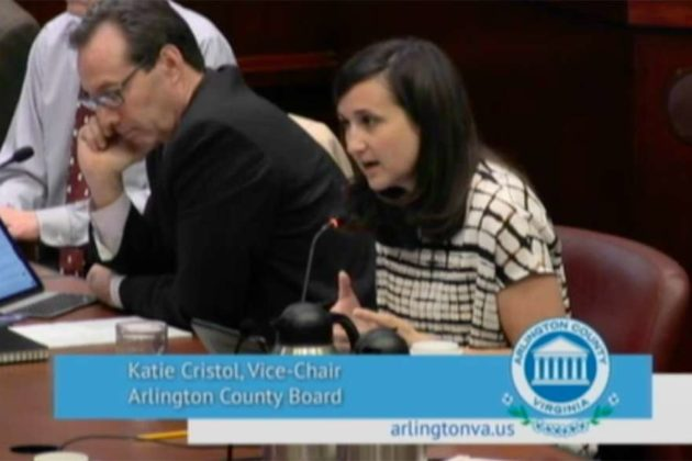 County Board vice chair Katie Cristol