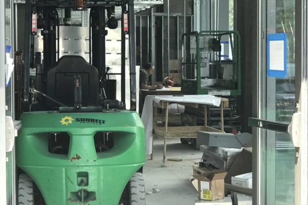 Little Beet under construction in Rosslyn