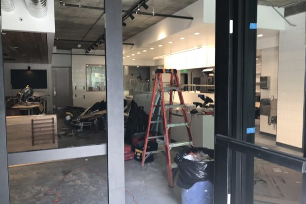 Sweetgreen under construction in Rosslyn