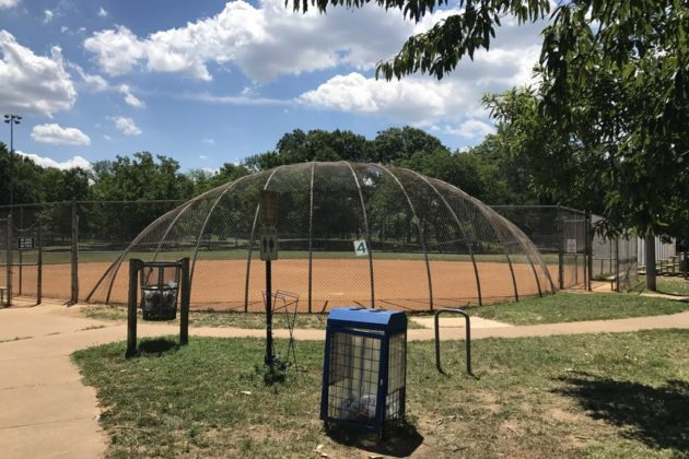 The softball fields at Virginia Highlands Park would be removed under a plan by neighbors