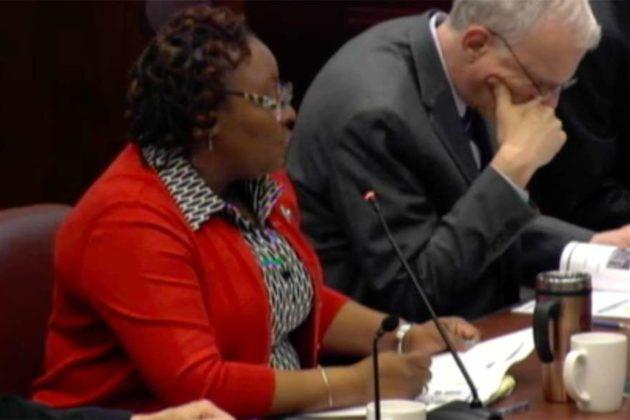 County transit bureau chief Lynn Rivers