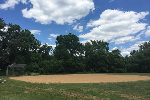 The ball field and adjoining multi-use field are set for a revamp
