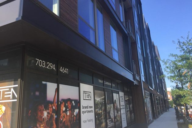 Potential tenants can now take a virtual reality tour of the Ten at Clarendon