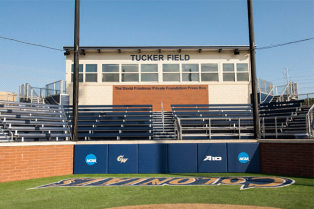 GW will fund a series of upgrades at Tucker Field including a new clubhouse