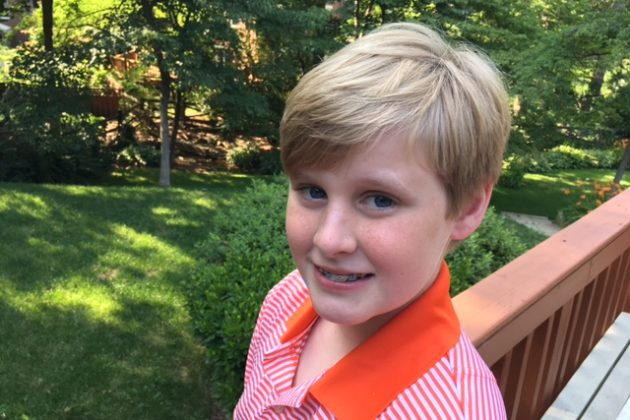 Williamsburg Middle School student Andy Nogas, who emailed the County Board with his request