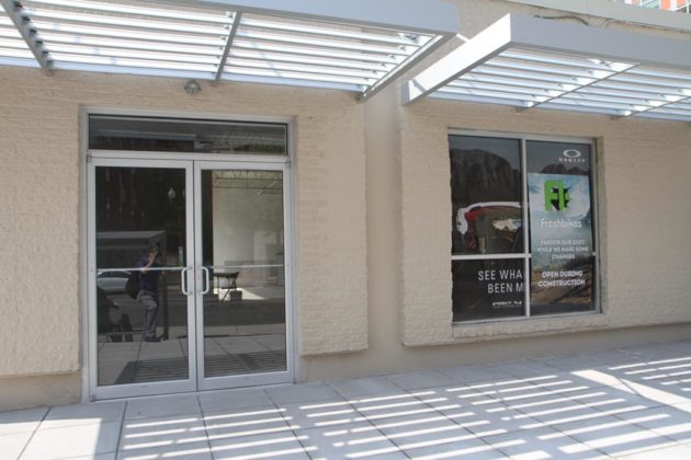 The eatery will share space with Freshbikes, and face Wilson Blvd