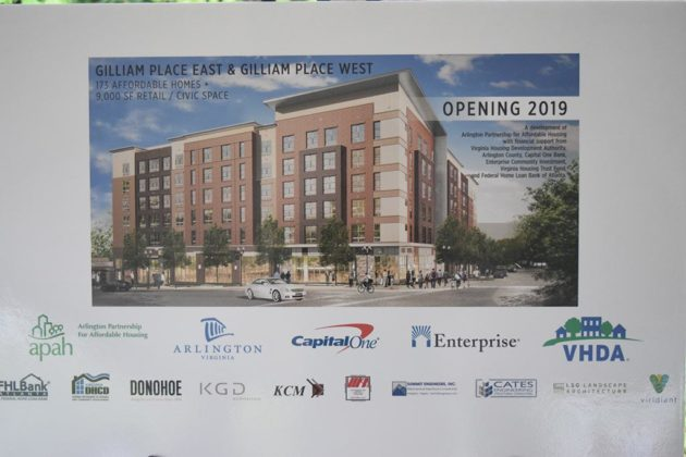 The project has involved many partners, including the Arlington Partnership for Affordable Housing