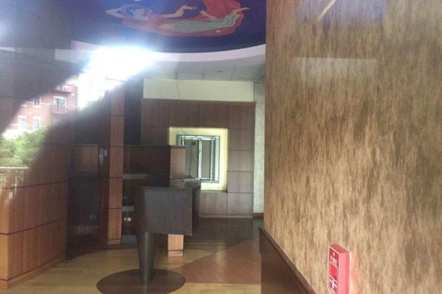 The empty interior of Zaika.