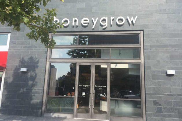 The Pentagon City location of Honeygrow.