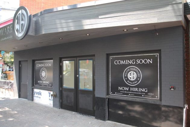 Wilson Hardware is set to open in late summer in Clarendon