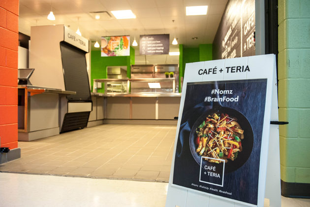 Arlington's three public high schools will launch fast-casual Cafe + Teria (courtesy photo)